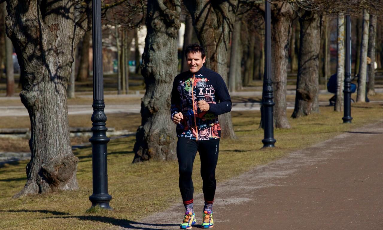 Jooksutreening Peeter Karaskiga