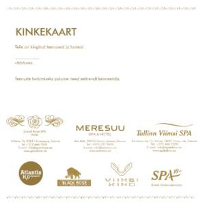c4a1c6edffa Tallinn Viimsi SPA gift card | Buy now Online!